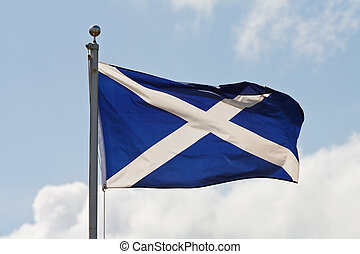 flagpole, vlag, schotland