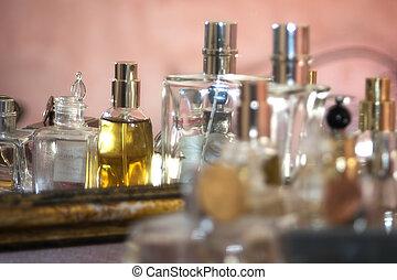 flagrance, elegante, perfumes