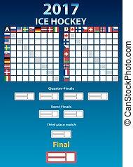 flags ice hockey