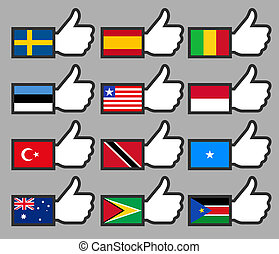 Flags in the Thumbs up-09