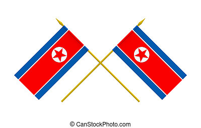 Flags, North Korea
