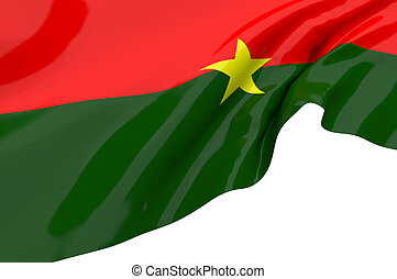 Flags of Burkina