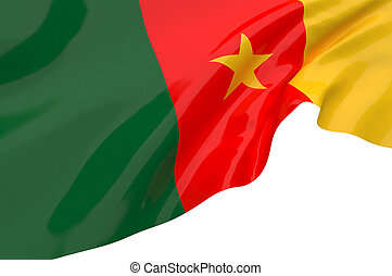 Flags of Cameroon