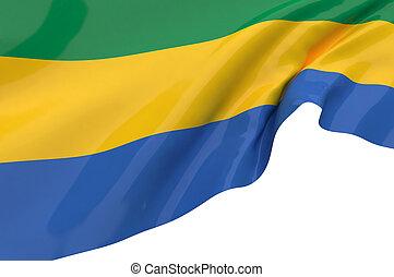Flags of Gabon