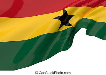 Flags of Ghana