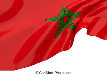 Flags of Morocco