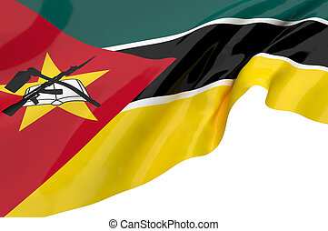 Flags of Mozambique
