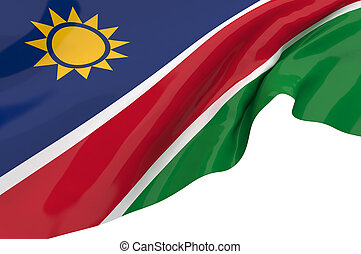 Flags of Namibia