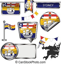 Flags of Sydney, Australia
