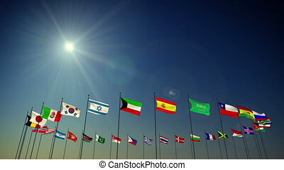Flags Of the Nations