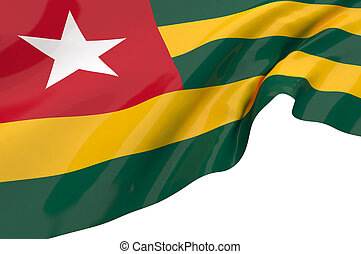 Flags of Togo