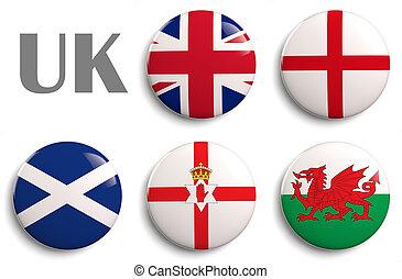 Flags of United Kingdom