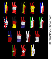 Flags of Western Europe - National flags of Western Europe ...