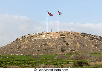 Hill in Northern Cyprus