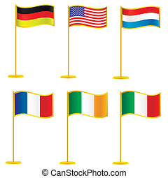 flags., verzameling