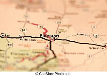 flagstaff arizona area map