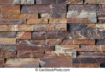 Flagstone Brick Wall Pattern #2