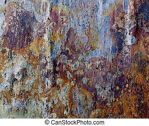 close-up of some fagstone