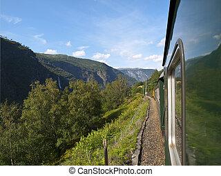 Flam Railway - The Fl?m Line (Norwegian: Fl?msbana) is a ...