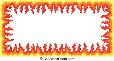 Flame Frame - Large