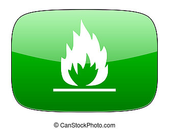flame green icon