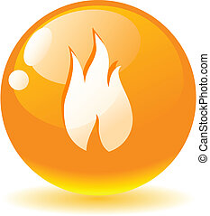Flame icon.