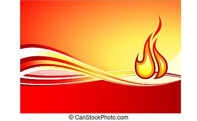 flame internet background