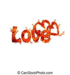 flame., liefde