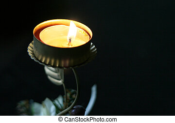 flame of the candle