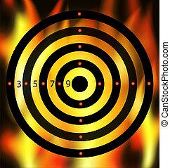 flame-target