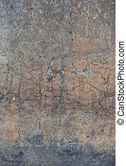 flamed gradient concrete worn dirty damaged cracked wall