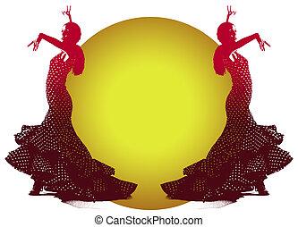 Flamenco Dancer - Illustration of Flemenco Dancer