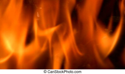 Flames - Canon HV30. HD 16:9 1920 x 1080 @ 25.00 fps. ...
