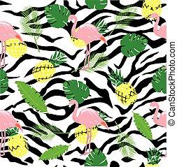 Flamingo Zebra