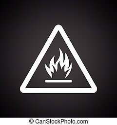 Flammable icon