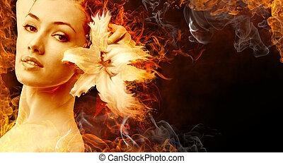 flamy, jelkép