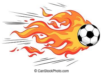 flamy, pelota del fútbol