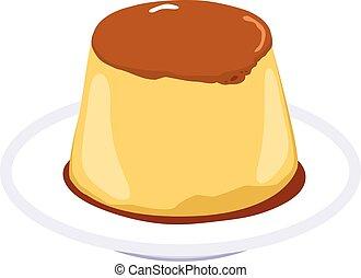Flan Caramel Pudding