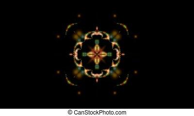 flare buddhism mandala fire flower