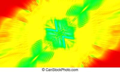 flare golden ray light explosion