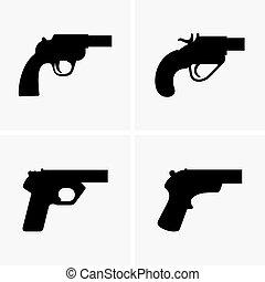 Flare guns