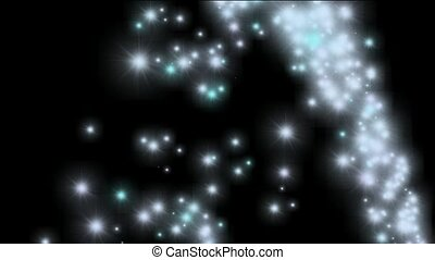 flare jet stars,holiday background.