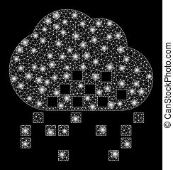 Flare Mesh Network Cloud Dissipation with Flare Spots - ...