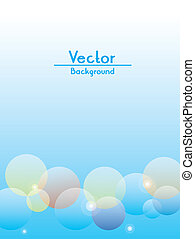 Flare Vector Background - Colorful flare vector for...