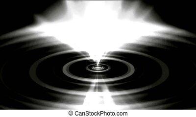 flare white heaven rays light