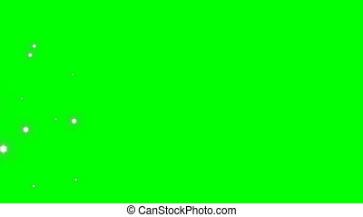 Flare wipe transition R44 - Flare Wipe transition on green...