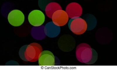 flas, światła, tło, barwny