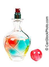 flasche, parfüm