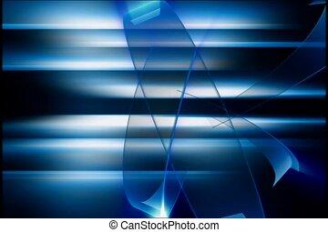 flash, blue, dark