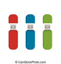 Flash drive USB memory sticks